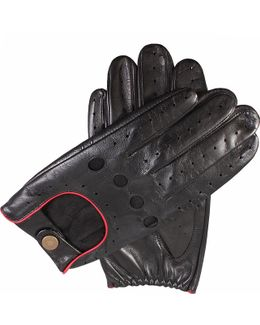 Leather Touchscreen Driving Gloves