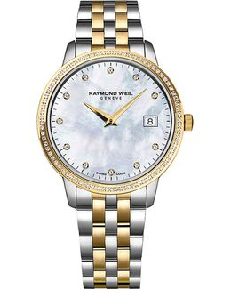 5988-sp5-97081 Toccata Diamond And Two-toned Stainless Steel Watch