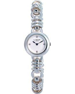 6010.0444 Sweetie Stainless Steel Bracelet Watch