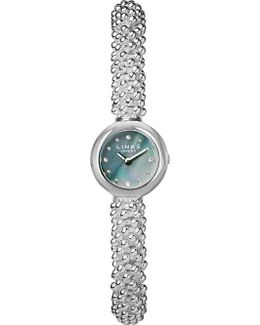 Effervescence Star Silver-plated Sapphire Watch