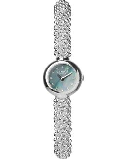 Effervescence Silver-plated Watch