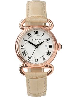 Driver Rose Gold-plated Watch