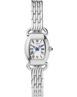 6010.2161 Driver Mini Tonneau Stainless Steel Watch