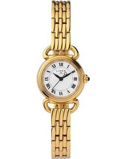 6010.2173 Driver Mini Gold-plated Stainless Steel Watch
