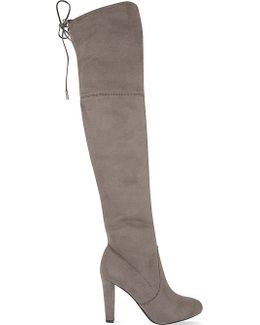 Sammy Suede Over-the-knee Boots