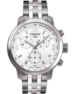 T055.430.11.017.00 Prc 200 Stainless Steel Watch