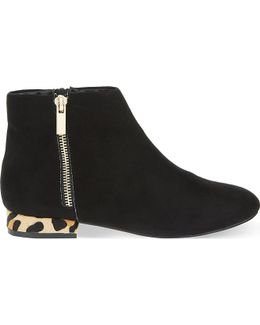 Soho Suedette Ankle Boots