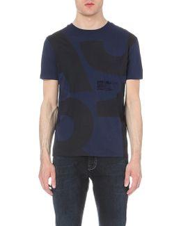 1981 Logo-print Cotton-jersey T-shirt