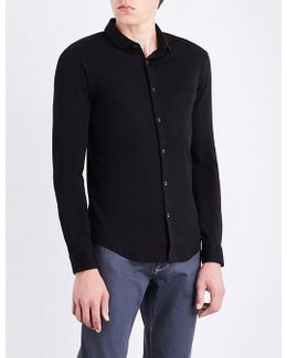 Regular-fit Cotton-jersey Shirt