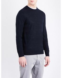 Striped Wool-blend Jumper
