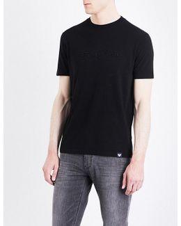 Script Cotton T-shirt
