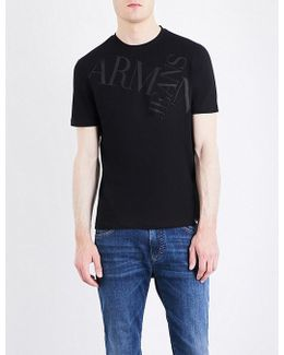 Cross Logo Cotton T-shirt