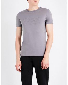 Branded Cotton T-shirt