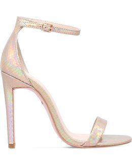 Gatsby Metallic Heeled Sandals