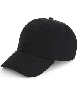 Embroidered Logo Cotton Baseball Cap