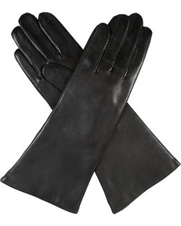 Helene Cashmere-lined Leather Gloves