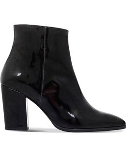 Sarah Patent-leather Ankle Boots