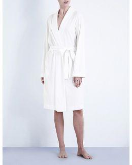 Classic Cotton-jersey Robe
