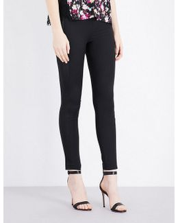 Glass Stretch-jersey Trousers