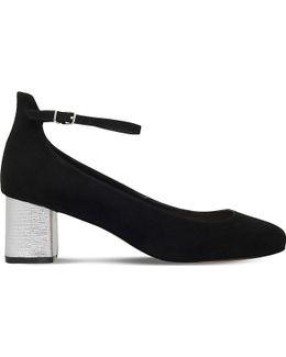 Greg Suedette Heeled Sandals