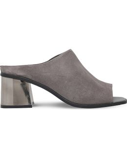 Kassidy Backless Suede Mules
