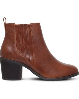 Taurus Heeled Ankle Boots