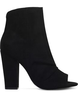 Sybil Occasion Peep Toe Ankle Boots