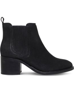 Samba Leather Ankle Boots