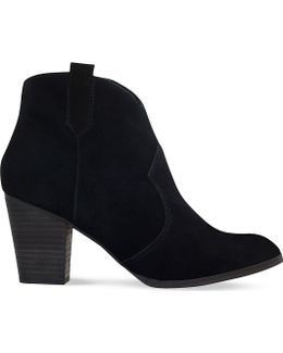 Sade Suede Ankle Boots