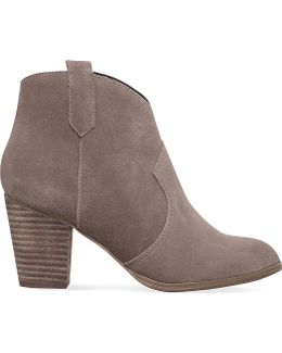 Sade Zip-up Ankle Boots