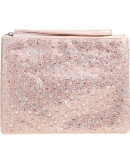 Gaye Sequin-embellished Clutch