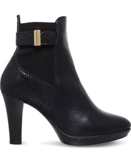 Rae Leather Ankle Boots