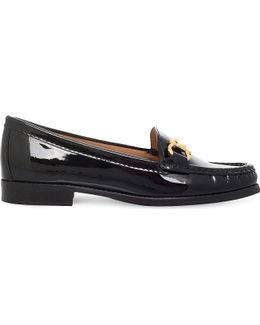 Click Patent-leather Loafers