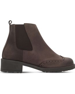 Russell Leather Chelsea Boots