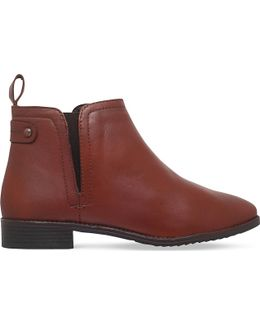 Rex Leather Ankle Boots