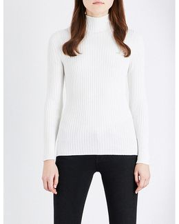 Bambino High-neck Knitted Jumper