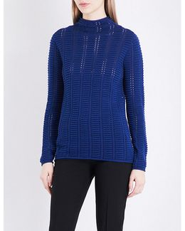 Mozart Ribbed-knit Jumper