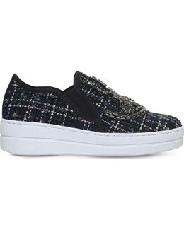 Lamont Embellished Woven Trainers