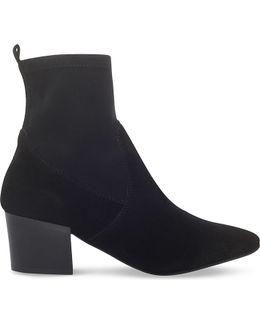 Silk Suede Boots