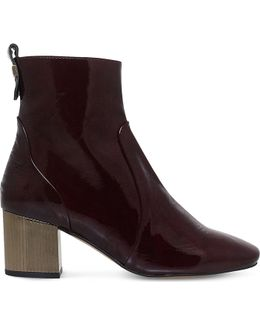 Strudel Patent-leather Ankle Boots