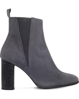 Spectre Suede Heeled Ankle Boots