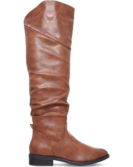 Willa Ruched Knee-high Boots