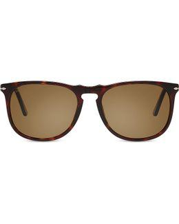 Po3113s Vintage Celebration Square-frame Sunglasses