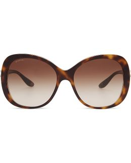 Bv8171b Giardini Italiani Round-frame Sunglasses