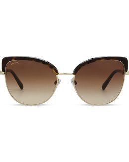 Bv6082 Cat Eye-frame Sunglasses