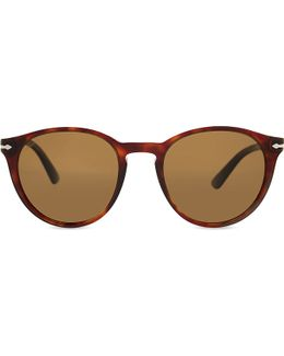 Po3152s Round-frame Sunglasses