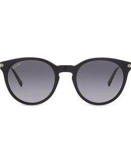 Bv7030 Oval-frame Sunglasses