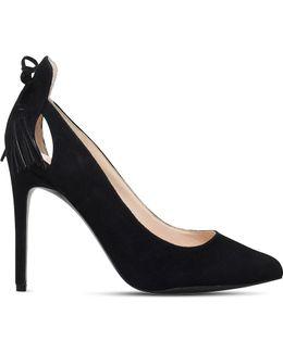 Erienne Tasselled Suede Court Shoes