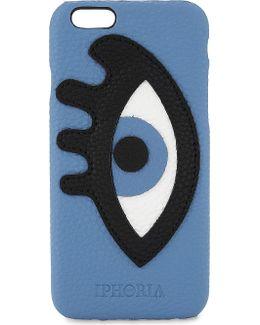 Appliqué Eye Faux-leather Iphone 7 Case