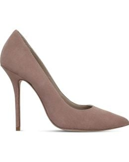 Ellen Suede Court Shoes